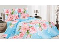 """Комплект постельного белья 2 - спальный макси """"Флорена"""" поплин"""