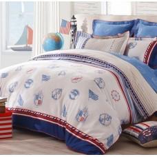 """Комплект постельного белья 1,5 - спальный """"Парусник"""" сатин Shining Star"""