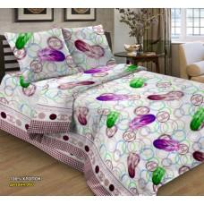 """Комплект постельного белья 1,5 - спальный """"Перья"""" бязь (125г/м2)"""