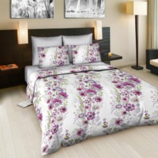 """Комплект постельного белья 2 - спальный """"Цветочная тропинка"""" поплин"""