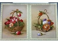 "Гобелен ""Тюльпаны"" 25х40"