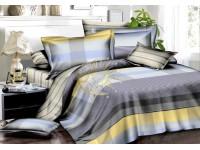 """Комплект постельного белья 2-спальный с натяжной простыней """"Чарующая ночь"""" SA-624 поплин"""