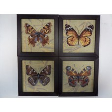 """Гобелен """"Бабочки"""" 20х20"""