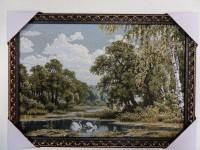 "Гобелен ""Лесное озеро"" 35х50"