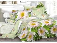 """Комплект постельного белья 1,5-спальный """"Чарующая ночь"""" 3D поплин"""