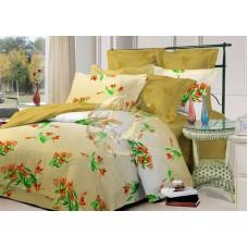 """Комплект постельного белья 2-спальный с натяжной простыней """"Чарующая ночь"""" с91412аа поплин"""