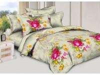 """Комплект постельного белья Дуэт """"Чарующая ночь"""" 3D h43015аа поплин"""