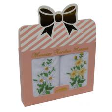 PV10 Подарочный набор Женские Носовые платки с вышивкой Etteggy 2 шт.