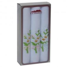 PV62 Подарочный набор Женские Носовые платки с вышивкой Etteggy 3 шт.