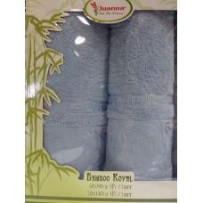 Комплект махровых полотенец Juanna бамбук