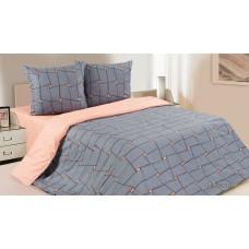 """Комплект постельного белья 2 - спальный """"Престо"""" поплин (простыня на резинке)"""